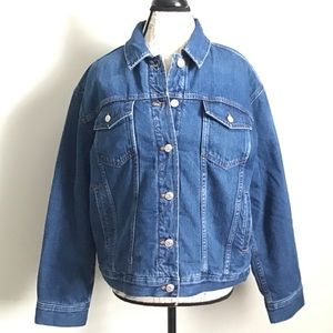 Madewell Jean Jacket Quilted Lining New With Tag